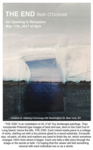 'The End' at Heiberg Cummings, NYC