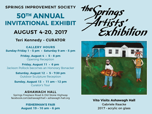 'The Springs Artists' Exhibition', East Hampton