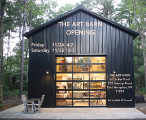 The Art Barn Opening, East Hampton