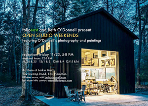 Open Studio Weekends, East Hampton